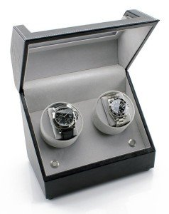 Heide Double Watch Winder Interior