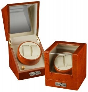 diplomat dual watch winder