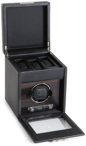 Wolf Roadster 2.7 single watch winder - storage