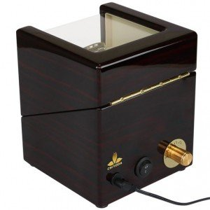 Chiyoda watch winder back view