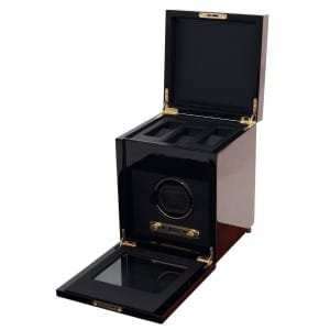 Wolf Savoy Single Watch Winder Storage