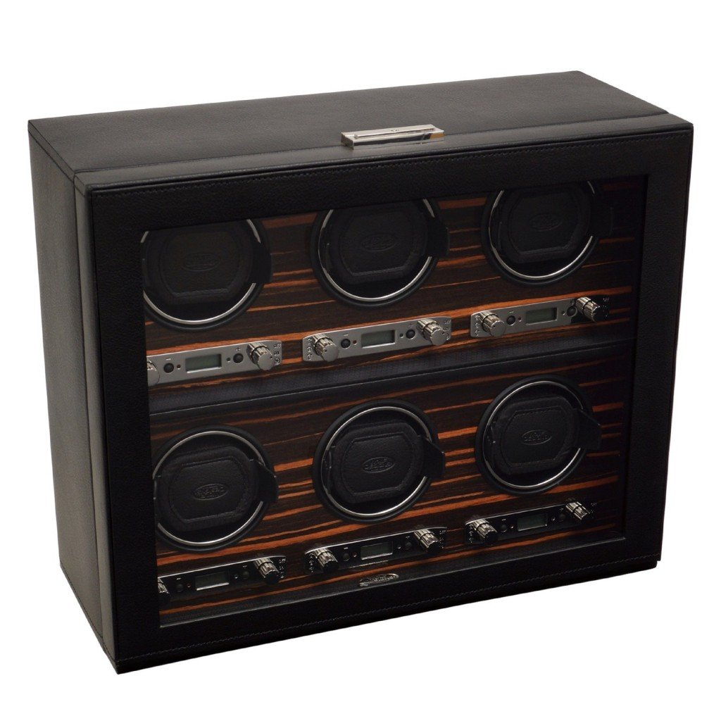 Wolf Roadster Six Piece Watch Winder