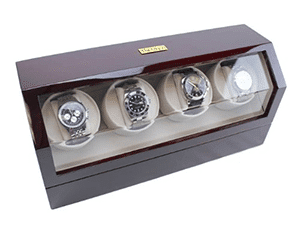 heiden quad cherry watch winder